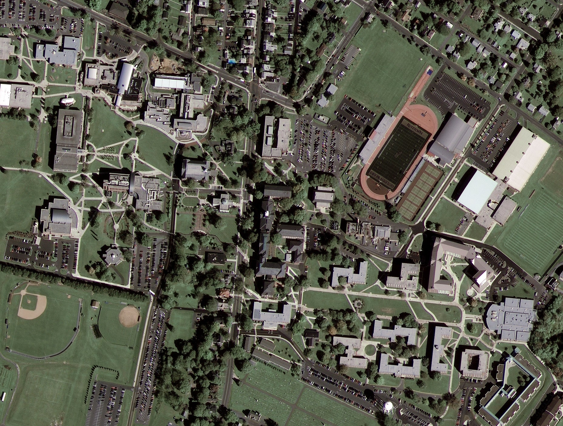 First Image from GeoEye-1