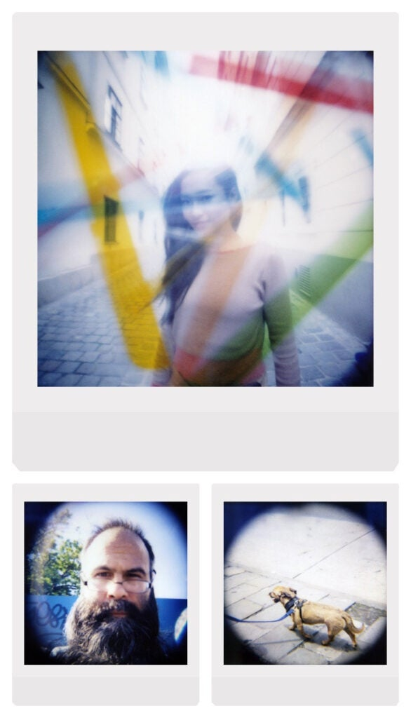 Sample image from the Diana Instant Square Camera