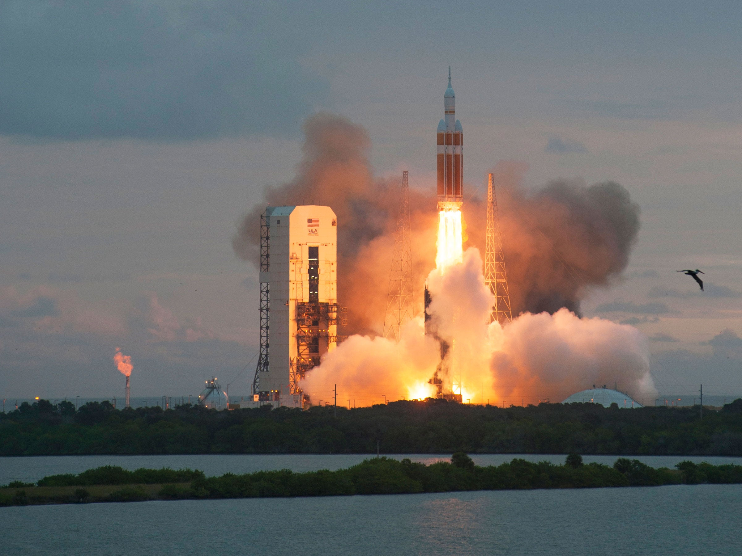 Liftoff! The Orion Capsule Launches Into Space