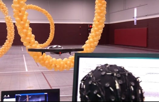 Researchers Unveil A Thought-Controlled Drone