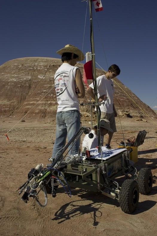 Teams to Rev Up in Utah Desert for Mars Rover Challenge