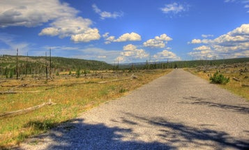 Yellowstone Is Replacing Asphalt With Paths Made From Old Tires