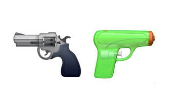 Apple Removes The Gun Emoji, Replaces It With A Squirt Gun