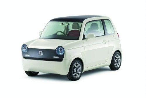 Honda EV-N Concept: An All-Electric Throwback