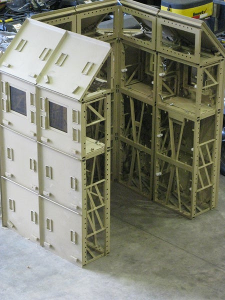 New Armored Wall System Assembles Like Legos, Could Replace Sandbags in Afghanistan