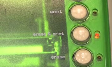 Rewriting Desktop Printer Can Erase and Reuse Documents