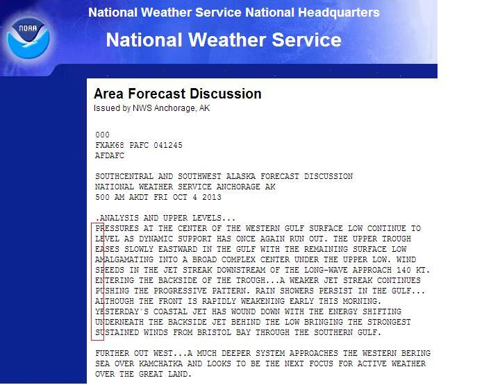 The National Weather Service Has A Hidden Message For Congress