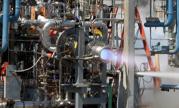 Watch NASA Test A Rocket Engine That Could Fuel Up On Other Planets