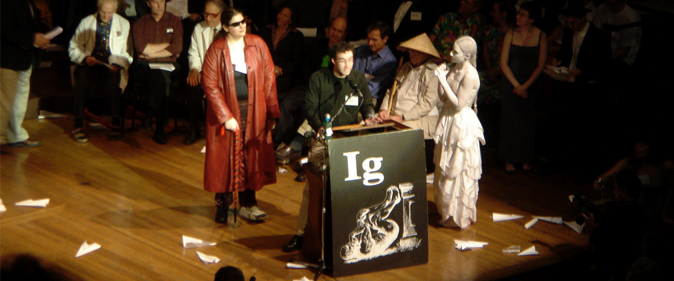 Watch the Ig Nobel Prize Ceremony Right Here!