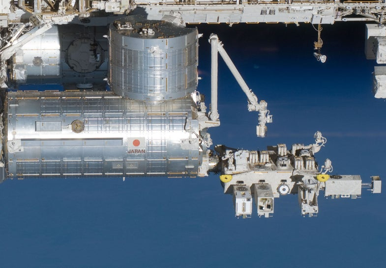 Learning How Microbes Live In Space