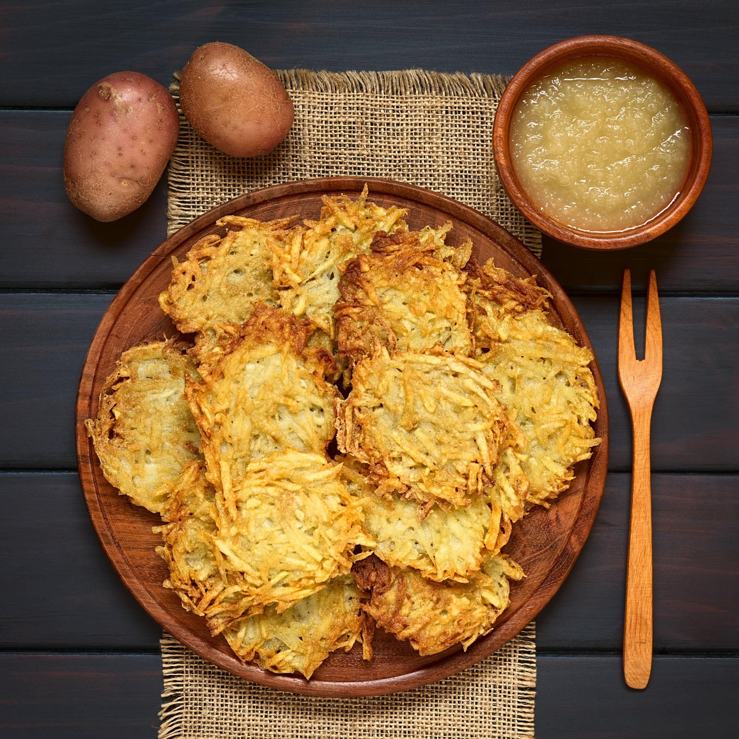 How to keep latkes crispy for eight days and nights