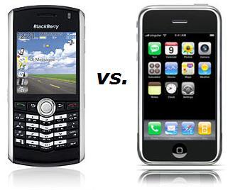 Apple Takes Aim at Blackberry