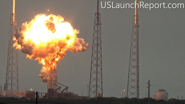 SpaceX Investigating Possible Sabotage Of Exploded Rocket