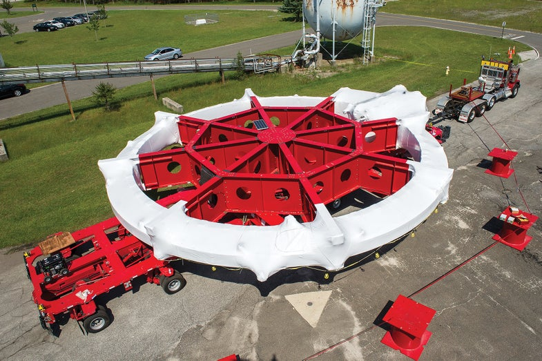 How To Ship A 17-Ton Magnet