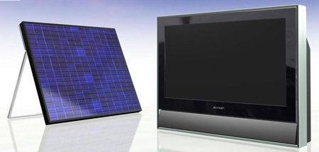 A Solar-Powered LCD TV for the G8 Summit