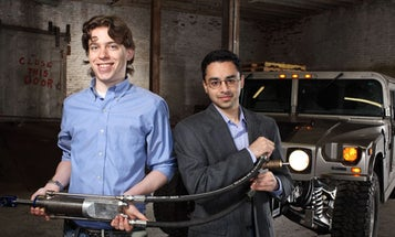 Invention Awards: Power From Shock Absorbers