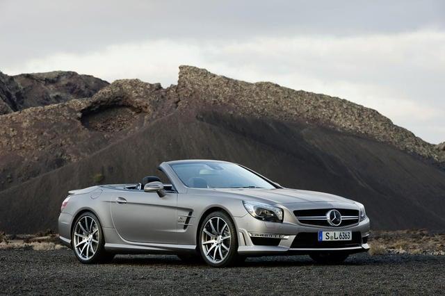 Test Drive: The 2013 Mercedes-Benz SL 63 AMG