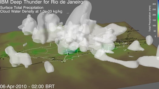 In Brazil, an Explosion in Computing Power is Revolutionizing Weather Prediction