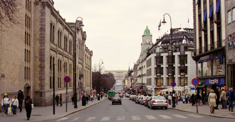 Oslo Decides To Ban Cars From City Center
