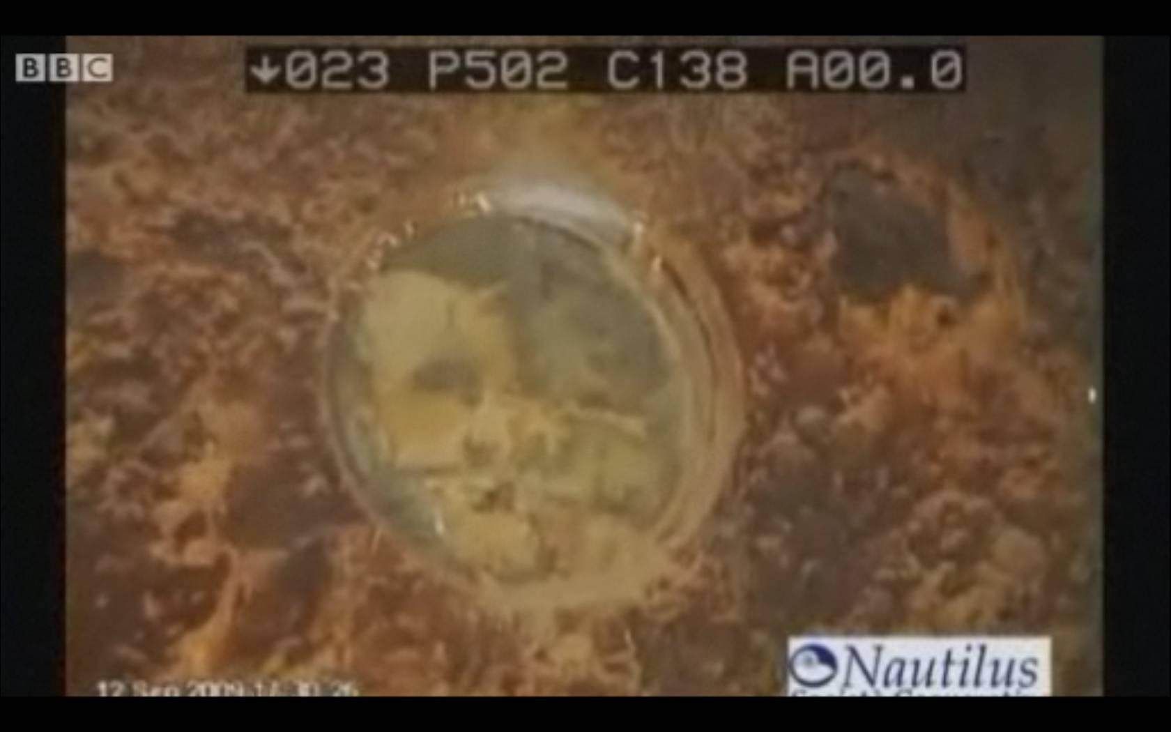 Robo-Sub Searches For Illegal Nuclear Waste in Mafia Shipwreck