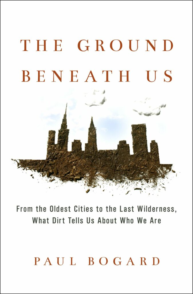 book cover for the ground beneath us