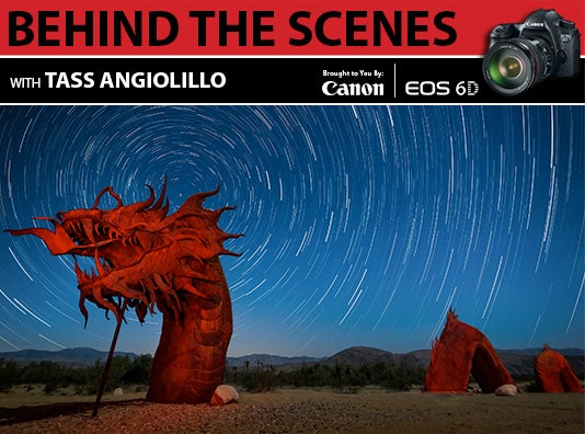 BEHIND THE SCENES WITH the Canon EOS 6D: Photographer Tass Angiolillo [Sponsored Post]