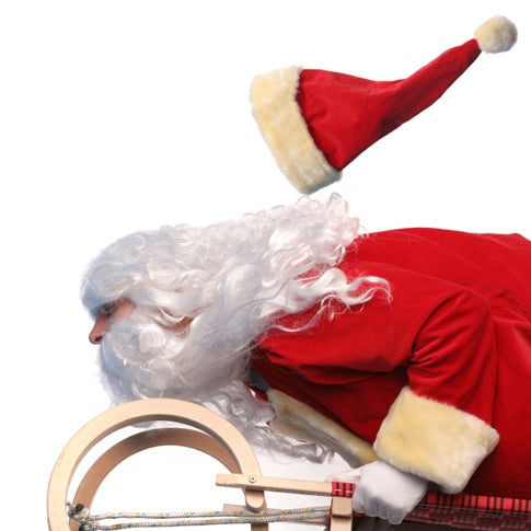 Does Santa Have a New Sled? Is Rudy Juicing?