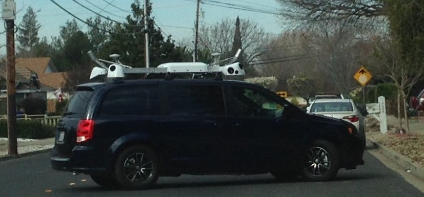 Mysterious Apple Cars Are Probably Just Collecting Map Data