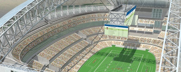 The Stadium of Tomorrow