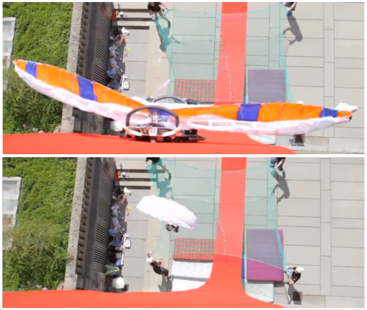 Video: Wall-Climbing, Base-Jumping Robot Hurls Itself From Buildings