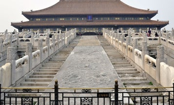 Friction Physics Reveals Details Of How People Hauled 100-Plus-Ton Stones To China's Forbidden City
