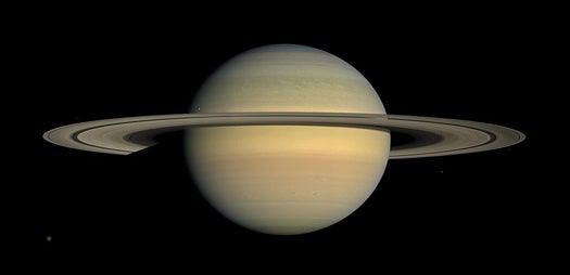 Holy Crap, Saturn's Rings Are Raining Water