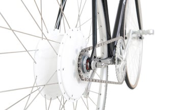 CES 2015: This Bike Wheel Can Push You For 60 Miles [Video]