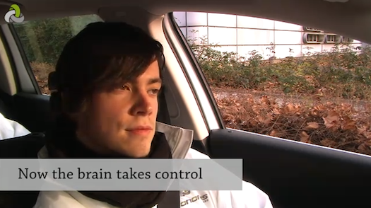 Video: German Autonomous Car Project Demonstrates Driving With Brainwaves
