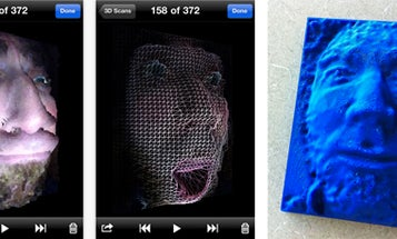 Trimensional iPhone App Takes 3-D Scan of Your Face, Sends to 3-D Printer to Produce Face Tchotchkes