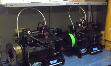 3D Printer Fills Gaps Onboard The USS Harry S. Truman