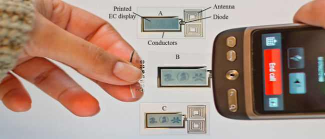 An Electronic Tag You Activate With A Phone Call
