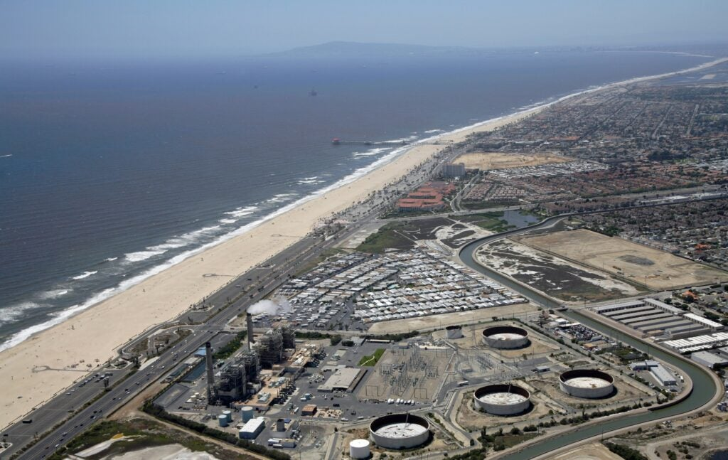 desalination huntington