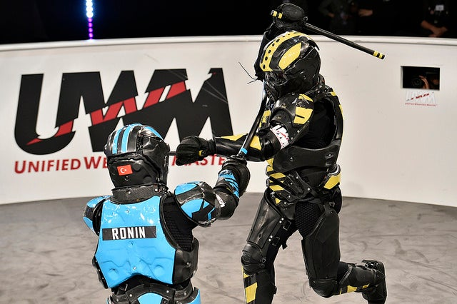 New Full-Contact Sport Wraps Martial Arts In Electronic Armor