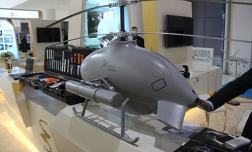 China has a New Armed Drone Helicopter