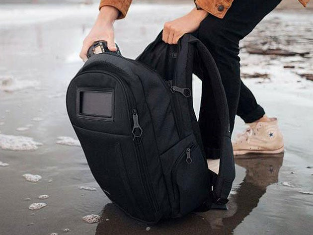 The solar-powered Lifepack is equipped with oodles of incredible features