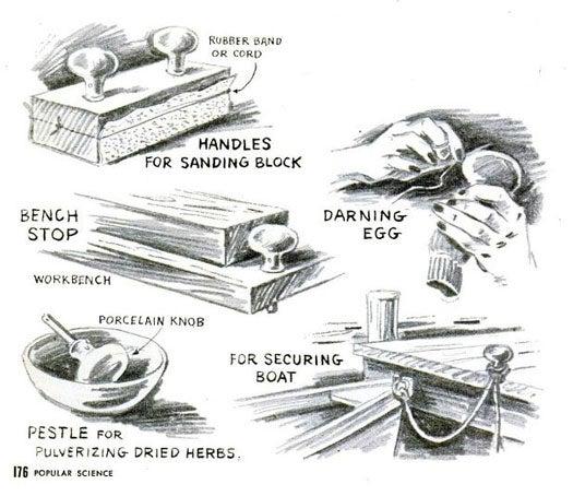 Doorknobs: January 1955