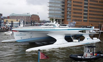 The First Solar-Powered Ship to Circumnavigate the Globe Completes Its Trip