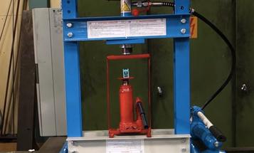 Watch A Hydraulic Press Crush A Hydraulic Press Crush A Hydraulic Press