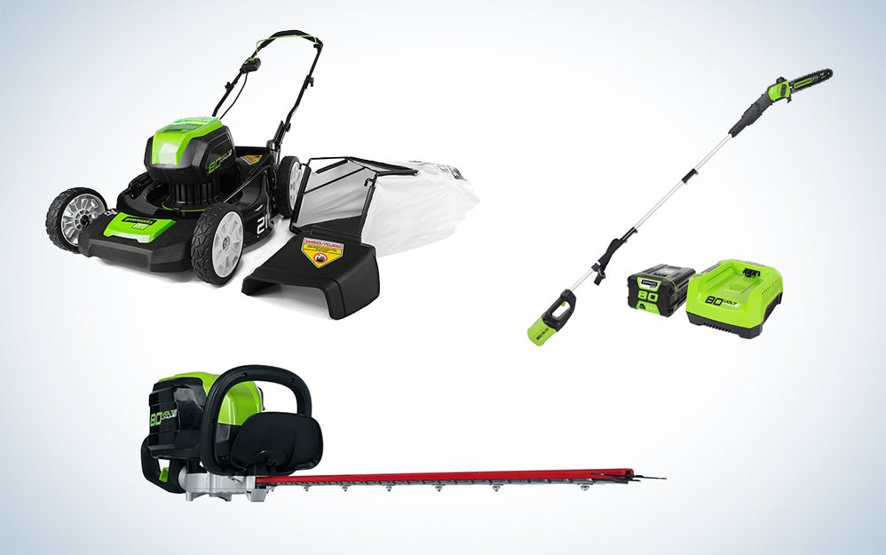 47 percent off Greenworks backyard gear and other good deals happening today