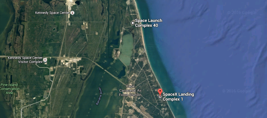 map of KSC