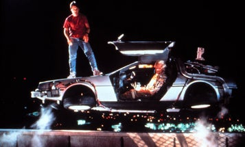 Would My DeLorean Fly If I Popped Its Gull-Wing Doors and Floored it?