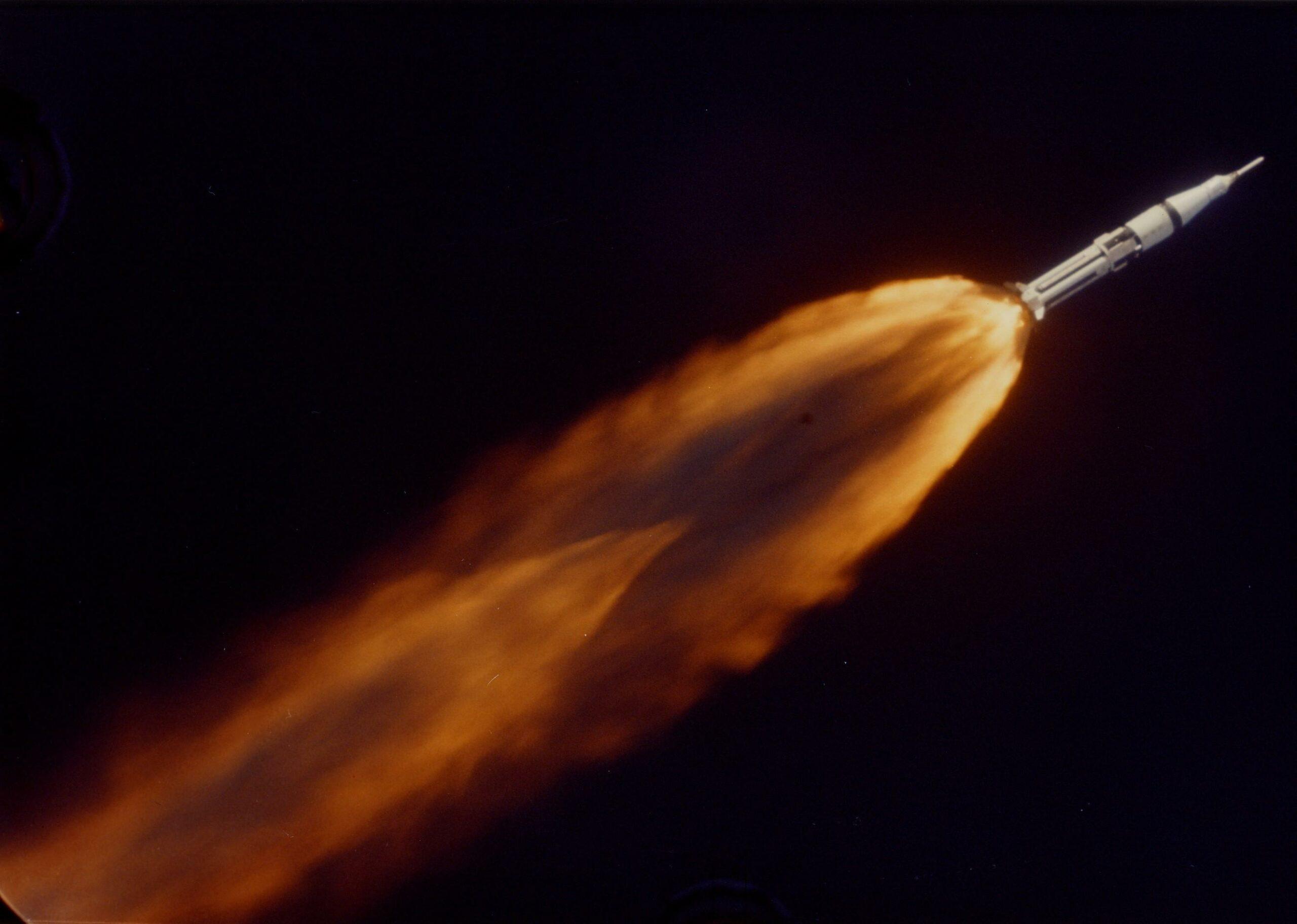 Want to Watch Fuel Slosh Around Inside a Saturn Rocket?