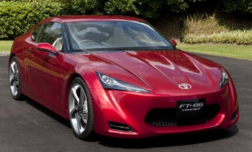 At the Tokyo Motor Show: Toyota's FT-86 Concept Car