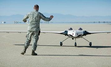 NASA Tests Cartoonish Flying Wing Drone